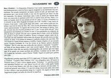 MARY PICKFORD (Attrice) - Autografo originale su cartolina d'epoca 1920-880