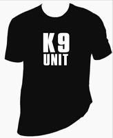 K9 Unit unisex T-Shirt 100% Cotton Premium Tee S,M,L,XL