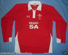 WALES (CYMRU) / 2009 Training - UNDER ARMOUR - MENS rugby Jersey / Shirt. Size L