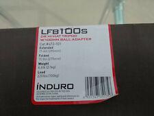 LFB100s INDURO Tripod / 100mm Ball Adapter / 220lbs /Hi-Hat
