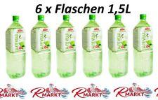 6x Flaschen Erfrischungsgetränk Aloe Vera Drink ALEO/Premium 6x1,5L Алоэ Вера
