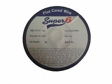 SWP SUPER 6 7335 0.8MM FLUX CORED GASLESS MIG WELDING WIRE 0.45KG QTY 1 ROLL