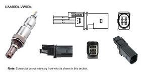 NGK NTK Oxygen Lambda Sensor UAA0004-VW004 fits Skoda Fabia 1.2 TSI (5J) 77kw