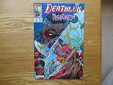 1993 Marvel Comics Deathlok # 24 Killjoy Signed Walter Mcdaniel Art With Coa