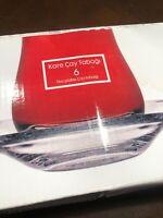 Brand New Turkish Tea Glass Saucers (6 Pcs) Pasabahce Brand