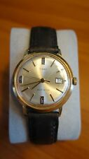 Vintage Timex Selfwind/Mechanical Gold Tone Watch - Very Cool & Unique!