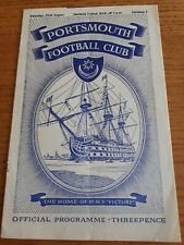 1953/4 - Portsmouth v Sheffield United