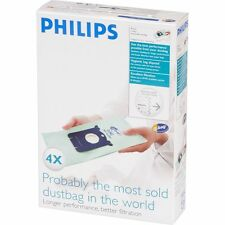 PHILIPS S-Bag FC8022/04 EPA Anti Allergy Vacuum Cleaner Bags Long Performance
