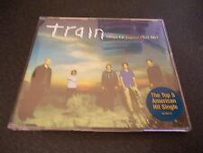 TRAIN DROPS OF JUPITER TELL ME 4 TRACK CD SINGLE