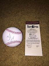 CHRIS PAUL SIGNED ROMLB RAWLINGS BASEBALL OML LOS ANGELES CLIPPERS + FREE TICKET