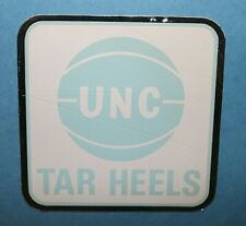 University of North Carolina UNC Basketball Sticker Decal Vintage 1970s