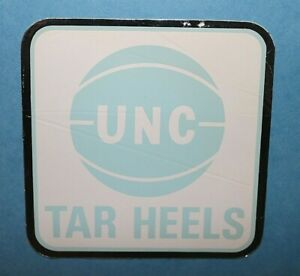 University of North Carolina UNC Basketball Sticker Decal Vintage 1970s