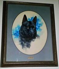 """Gloria Bilotta 1975 Original Acrylic Painting """"BEAR"""" -MAKE AN OFFER- Western Art"""