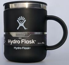 Hydro Flask 12oz Stainless Steel Coffee Mug Black