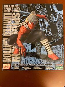 Spider-Man 1/10 Statue Winter Gear Kotobukiya ArtFX NYCC 2017