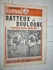 FRANCE FOOTBALL 1270 04/08 1970 ASSE-FEYENOORD COLUNA OL ASNL PARIS PSG JUVENTUS