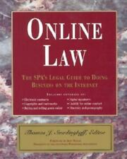 Online Law:The SPA's Legal Guide to Doing Business on the Internet PB Very Good