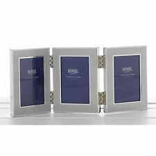 "2"" x 3"" Triple Photo Frame 3 Way Travel Frame Gift Occasion Present"