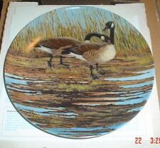 Dominion China Ltd Collectors Plate THE COURTSHIP - Geese BOXED