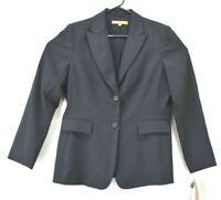 New Alex Marie Women's Size 10 Pinstripe Blazer Career Sport Coat Aviva Jacket