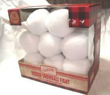 Indoor Snowball Fight SNOW ANYTIME 15 Pack New Free Shipping FEELS LIKE SNOW