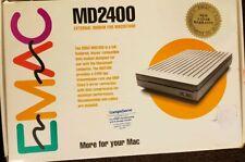 E Mac MD2400 Vtg MacIntosh External Modem