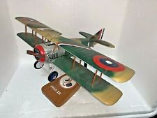 Spad Xiii Professional Wood Airplane Model Jerry Price Authentic Models w Stand