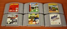 lot Nintendo 64 6 jeux loose