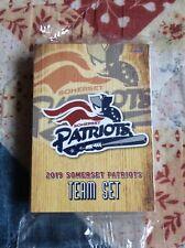 Somerset Patriots 2019 Team Set Baseball Cards Atlantic League Bridgewater, Nj
