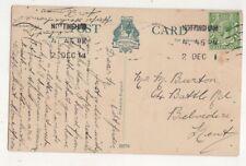Mr M Burton Battle Road Belvedere Kent 1914 728b