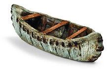Miniature Dollhouse FAIRY GARDEN - Birch Bark Canoe - Accessories