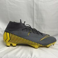 Nike Mercurial Superfly 6 Elite FG Soccer Thunder Grey Mens Multi Size.