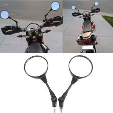 Top Universal Folding Motorcycle Rear view mirror 8mm 10mm Screws Side Mirrors