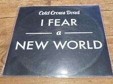 Cold Crows Dead – I Fear A New World!!!!!!!!RARE CD PROMO!!!!!!!!!