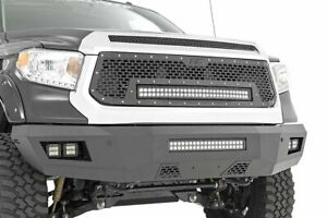 Rough Country For Toyota Heavy-Duty Front LED Bumper 14-20 Tundra
