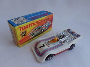 "Matchbox Lesney Superfast No56 Hi-Tailer RARE ""MARTINI"" Racing Car NMINT BOXED"