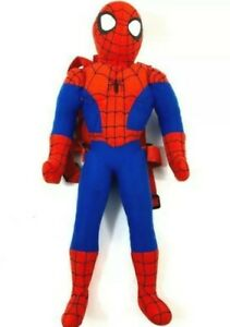 """PLUSH BACKPACK Marvel Spider-Man 20.5"""" inches with Small Pocket New no Tags 2017"""