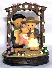 """Avon Gift Collection Beary figure """"Beary Swingalong"""" Mint Boxed"""