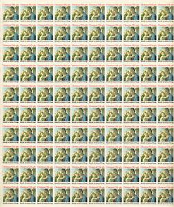 SCOTT #1939  X-MAS  U S A  1981   20 CENT   SHEET   MNH