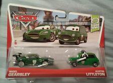 Disney Pixar Cars 2013 WORLD GRAND PRIX NIGEL GEARSLEY & AUSTIN LITTLETON