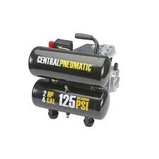 Central Pneumatic 2 HP, 4 Gallon, PSI Twin Tank Air Compressor- NIB