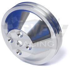 Billet Aluminum Oldsmobile Water Pump Pulley V-Belt 350 455 2V Polished