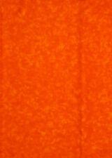 "Medium OrangeTonal Blender For Quilt Craft Sew Scrapbooking Cotton Fabric - 30"""