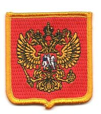 Toppe Toppa PATCH stemma blasone Bandiera   RUSSIA    ricamata