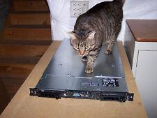 Dell Poweredge PE 1850 Server 2x 3GHz 64Bit Xeon 4GB 2X 146GB RAID DRAC RAILS