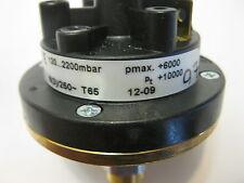HUBA CONTROL 625.9634 Relative pressure switch Type 625 120....2200MBAR NEW!!!!!