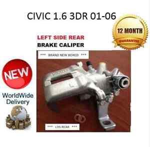 HONDA CIVIC REAR BRAKE CALIPER NEW LEFT 1.6 2001-2006 LH 43019S6MA01 NEW