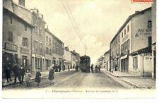 (S-45921) FRANCE - 69 - CHAMPAGNE AU MONT D OR CPA TRAMWAY ELECTRIQUE MOYEN PLAN