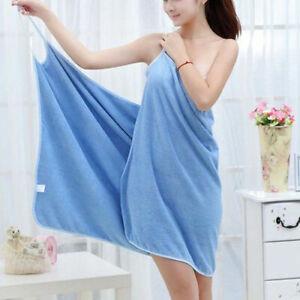 Wearable Bath Towel Dress Beach Towel Bath Skirt Women Textile Towel Spa Robes
