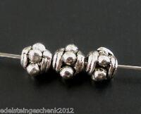 300 Antiksilber Spacer Perlen Beads Zwischenteil Für Schmuck DIY 3x0.3cm